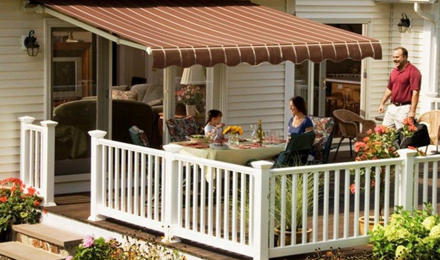 Motorized & Motorized XL Awnings