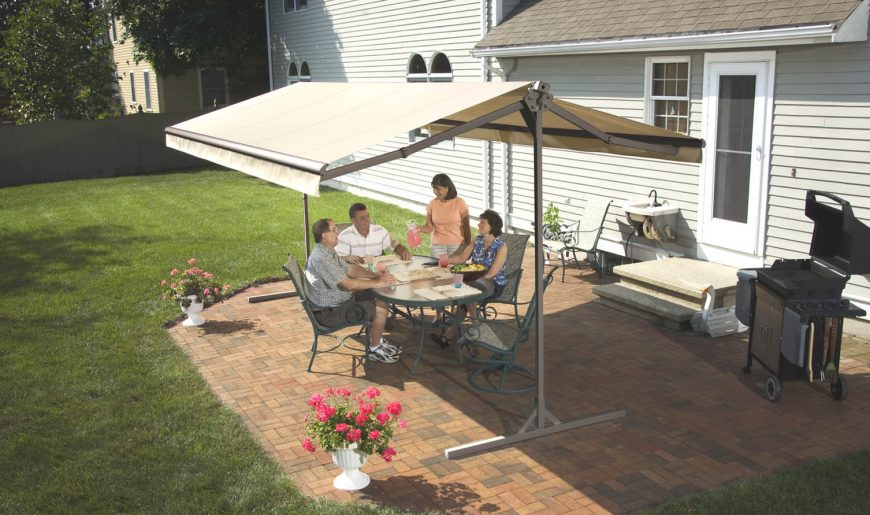 Freestanding Awnings Unattached Awning