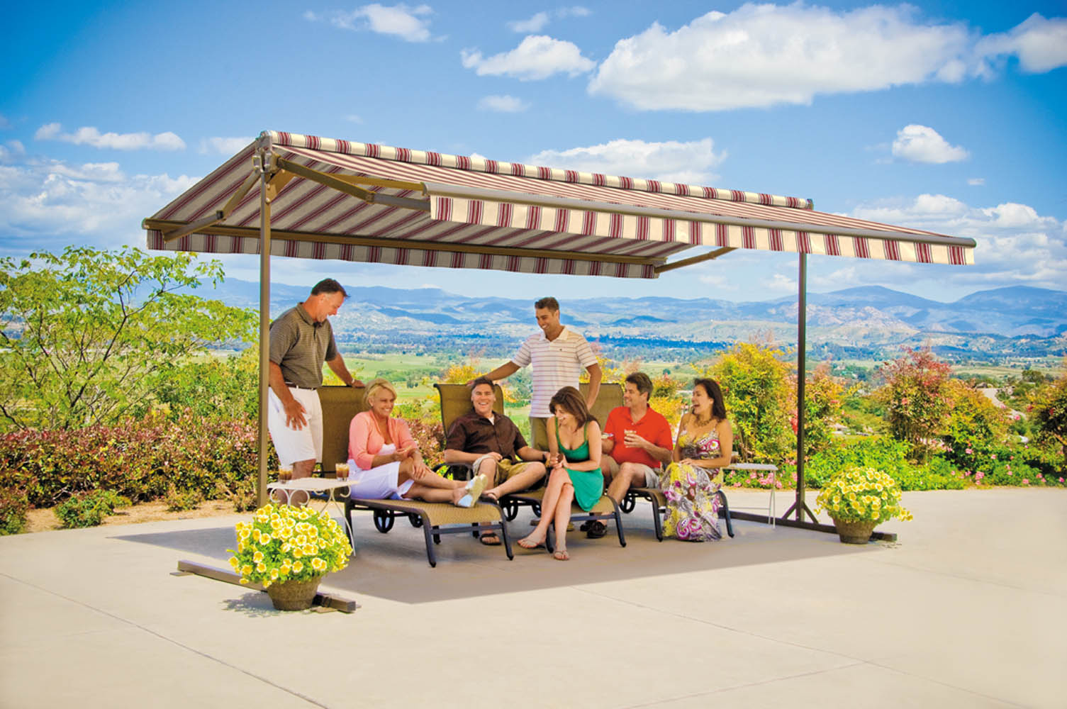 Sunsetter Oasis - Dayton Retractable Awnings - Kettering ...
